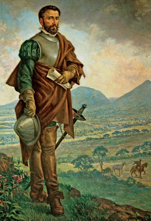 1538 – Bogotá, Colombia, is founded by Gonzalo Jiménez de Quesada. | ... de 1538 el conquistador Gonzalo Jiménez de Quesada fundó Bogotá