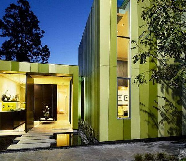 monochromatic colour scheme works best for exterior facade like this house exterior designhouse