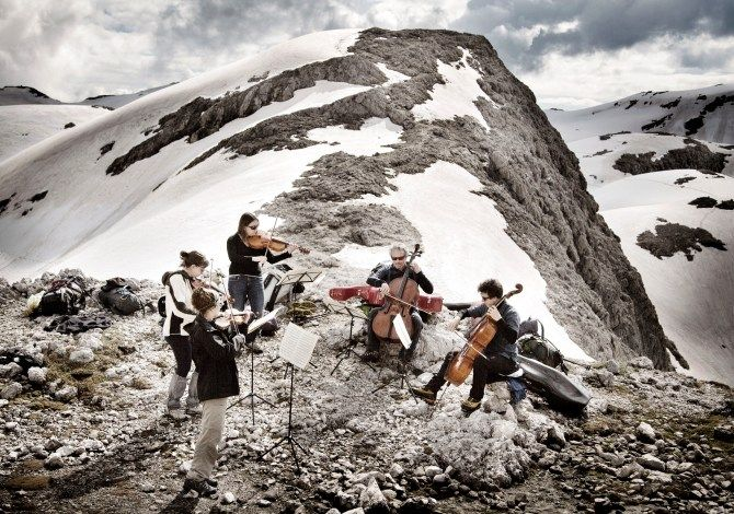 I Suoni delle Dolomiti. Tutti i concerti, rifugio per rifugio