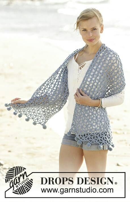 Crochet Pebble Beach Women's Star Design with by Silkwithasizzle