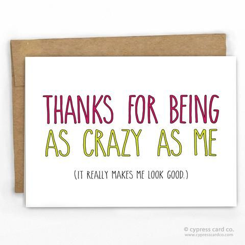Best  Funny Thank You Cards Ideas On   Funny Thank