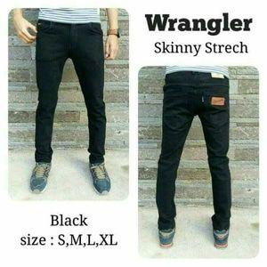 Supplier celana jeans wrangler skinny jeans hitam