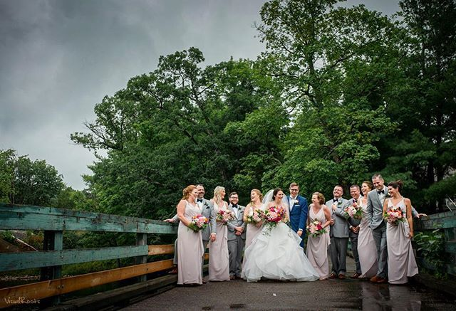#VisualRoots #BridalParty #MuskokaWedding