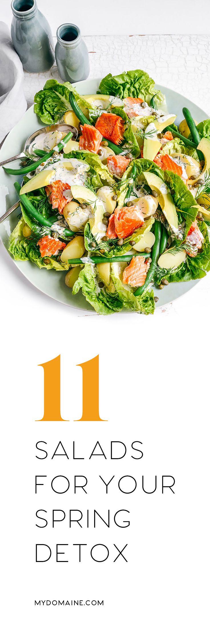 Spring salad recipes