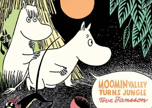 Moominvalley Turns Jungle Tove Jansson http://www.amazon.co.jp/dp/1770460977/ref=cm_sw_r_pi_dp_L4Adub1310E9M