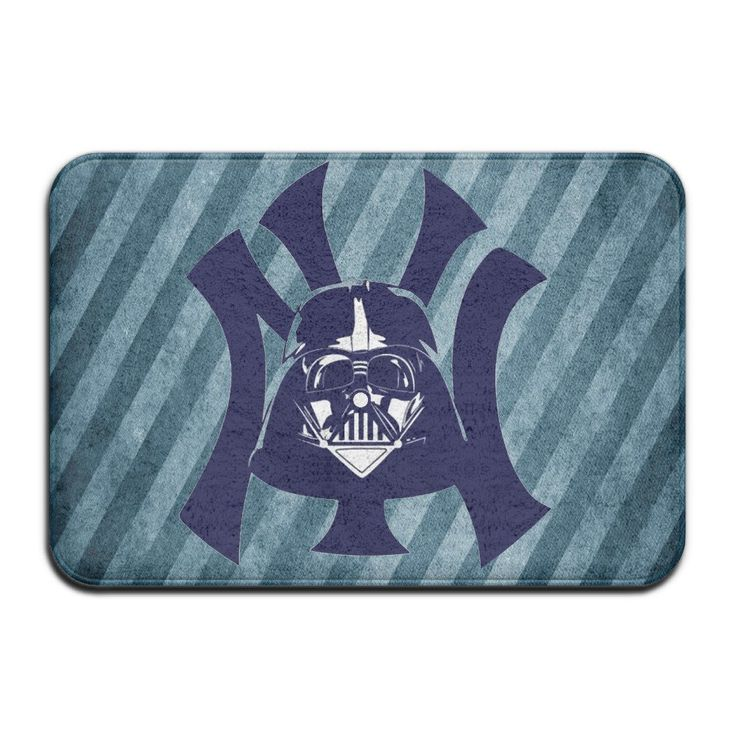 Yankees New York Logo Anti-Bacterial Non-Slip Mats White -- Awesome products selected by Anna Churchill