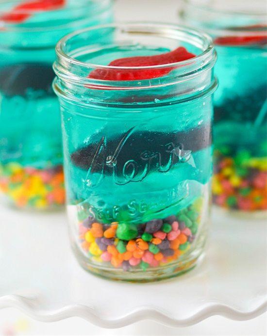 Edible Glass Shark Tank