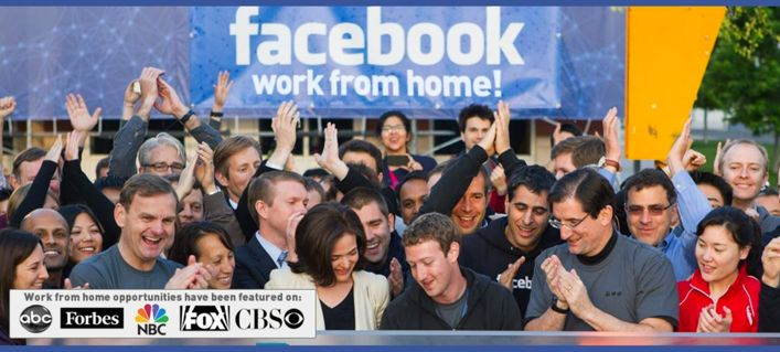 Work At Home Opportunity With Facebook!
