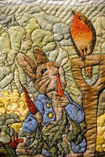 RABBIT QUILT...............PC............Peter Rabbit—William Morris in Quilting: Tokyo Quilt Festival Part 2