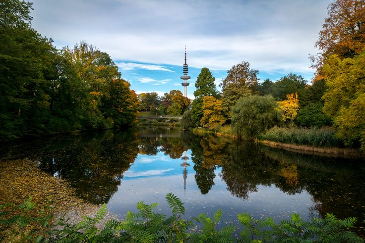 Hamburg, planten und Blumen park