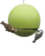 Bird Ball peanut feeder. No squirrels allowed! £39.95