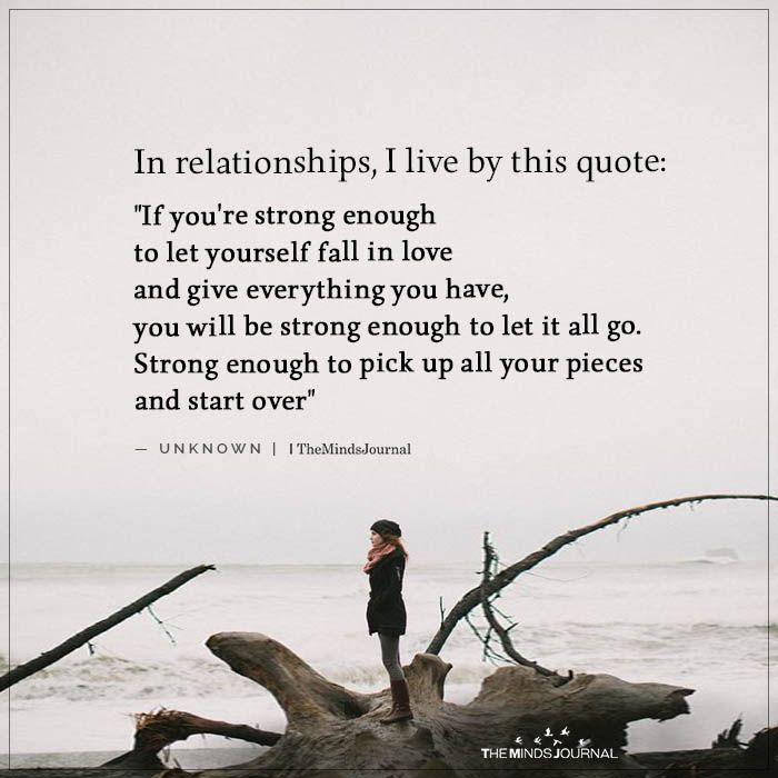 In Relationships I Live By Live Positivedisciplinebehaviormanagement Positivedisci Enough Is Enough Quotes Healthy Relationships You Are Enough Quote