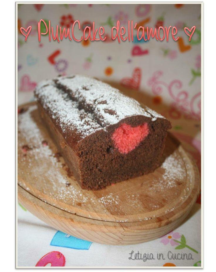 Plum cake dell'amore  - Love Plumcake