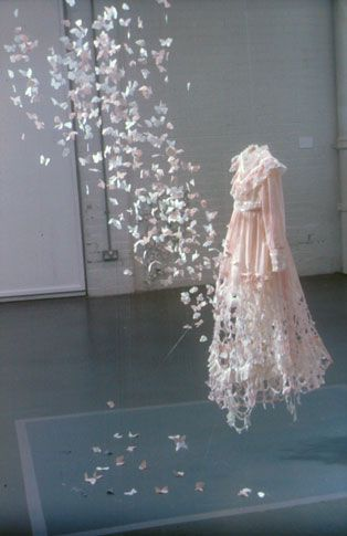 """Su Blackwell, """"While you were sleeping,"""" 2004; paper art. I couldn't love this more, it's just magical."""