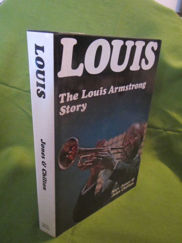 1971 ** Louis * The Louis Armstrong Story ** 1st American Edition ** Max Jones * John Chilton **sj by theadlibrary on Etsy