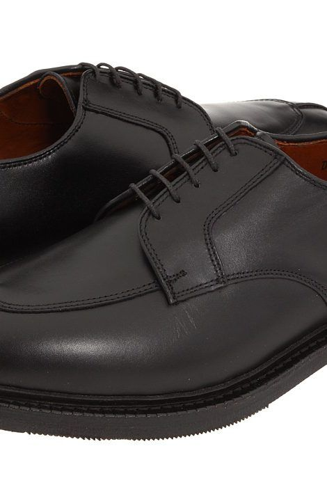 Allen-Edmonds Ashton (Black Custom Calf) Men's Lace Up Moc Toe Shoes -