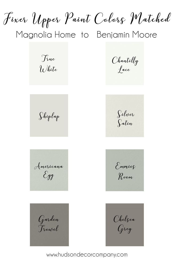 Magnolia Home Paint Colors Just For You Match Benjamin Moore
