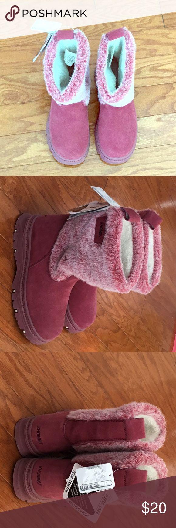Khombu boots Khombu boots. Brand new with tags Khombu Shoes Winter & Rain Boots