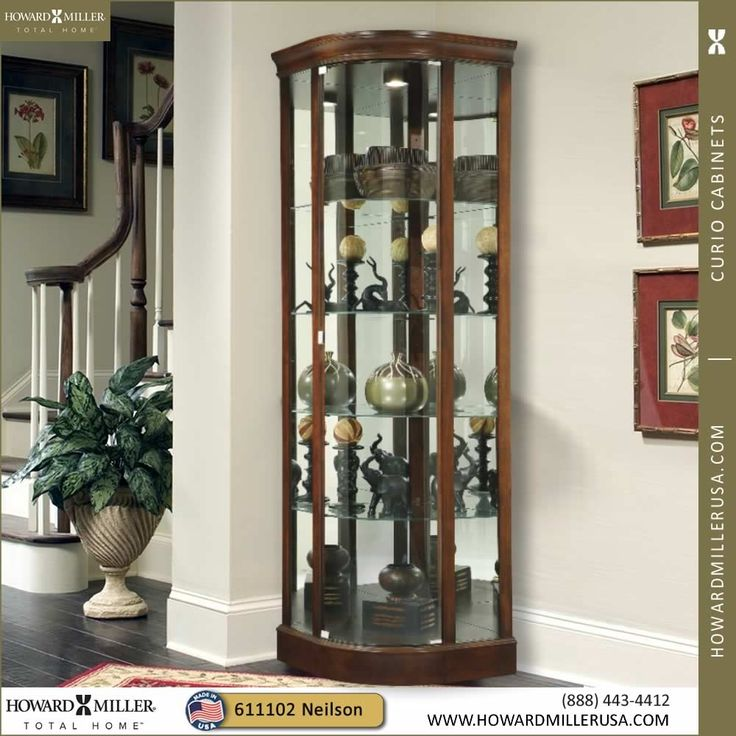 13 best Corner Curio Cabinets images on Pinterest | Curio cabinets ...