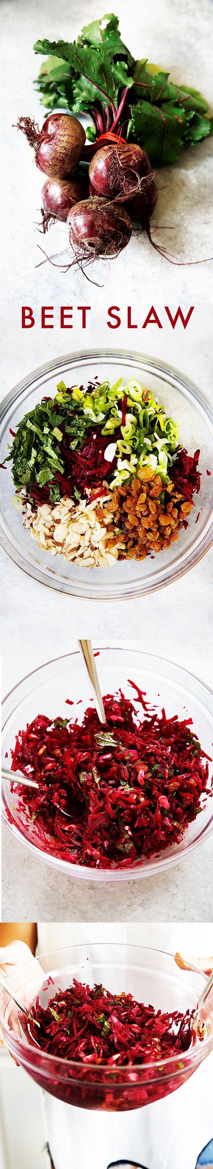 Healthy Beet Slaw - Lexi's Clean Kitchen