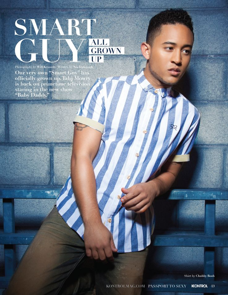 EXCLUSIVE: Tahj Mowry-SMART GUY ALL GROWN UP