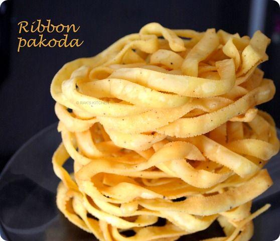 Ribbon pakoda/ Ola pakoda
