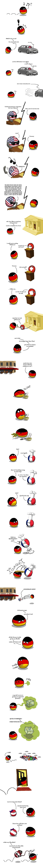 A Constant Reminder ( Germany, poland, USA, Swiss, France, Israel, Austria ) by arrz  #polandball #countryball