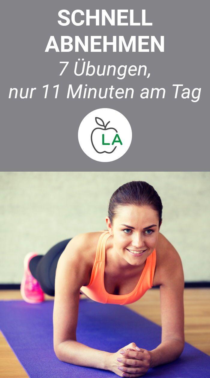 Schnell abnehmen durch Krafttraining: 7 Übungen, 11 Minuten am Tag – Lecker Abnehmen | Fitness & Ernährung