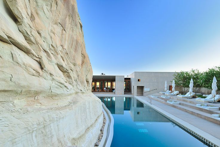 Amangiri luxury resort is an enclave of luxury and style for Pool design utah