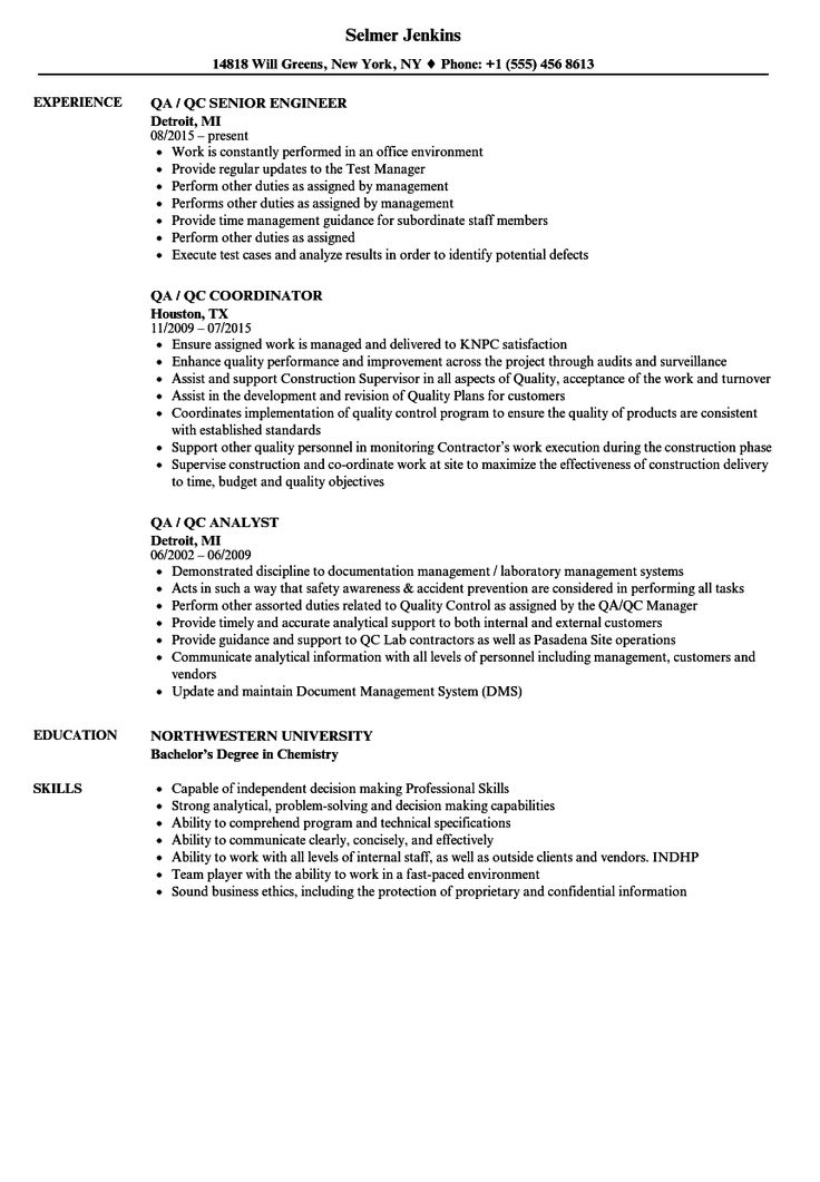 73 new image of resume sample for welding inspector check