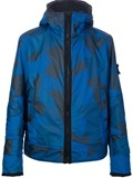 Stone Island-Hooded Wind breaker new in camo reflective jacket @giuliofashion #farfetch