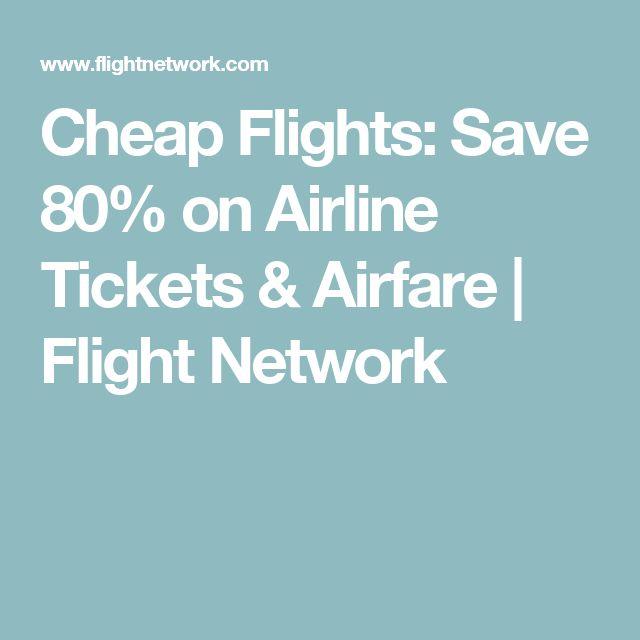 Flight Network - great source for cheap flights