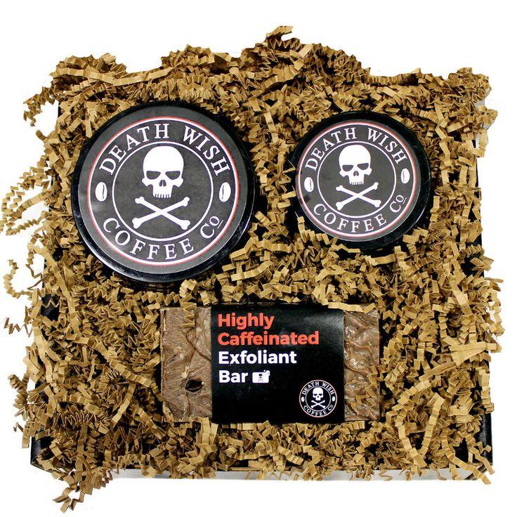RAD Soap Co. Death Wish Coffee Gift Set - Body Bar, Body Cream, and Shuga-Bubs #RADSoapCo