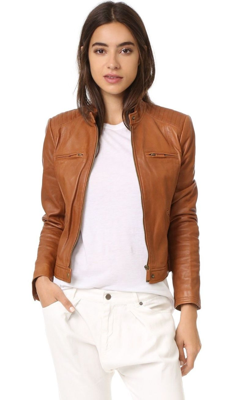 Pin By Bonanza Marketplace On Women S Leather Jackets Vintage Leather Jacket Leather Jacket Women Brown Leather Jacket [ 1305 x 736 Pixel ]