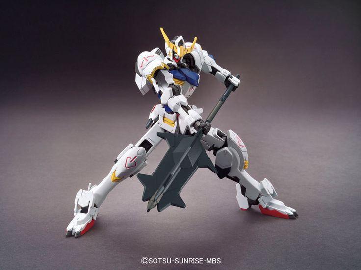 1/144 HG Gundam Barbatos | Iron-Blooded Orphan Gundam | Gunpla | Military Sci-Fi Animé| Mecha Scale Model