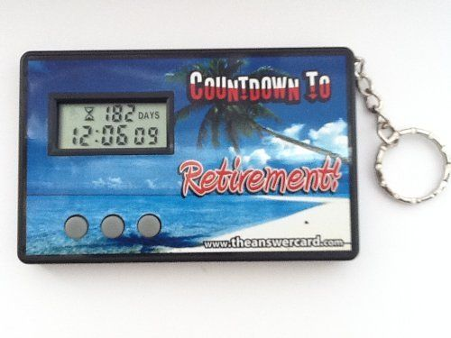 countdown to retirement clock instructions