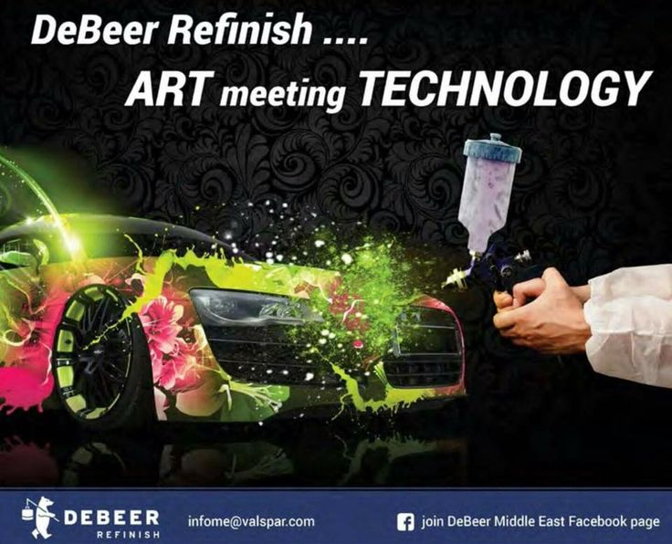 #DeBeer giving you art at your fingertips.
