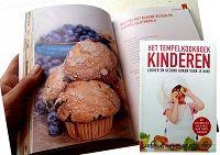 Muffins met blauwe bessen en citroen (glutenvrij) uit het Tempel kookboek voor kinderen  | Kinderen kunnen prima anders eten
