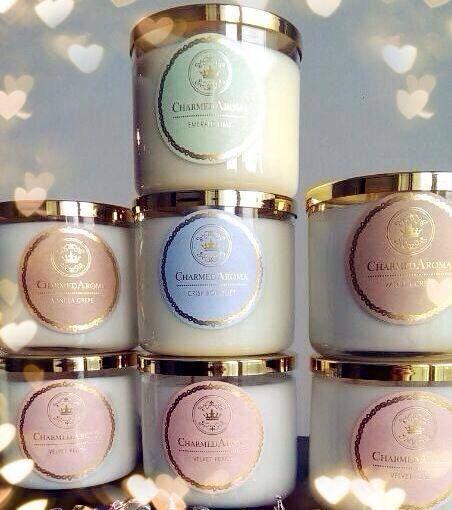 Charmed Aroma Candles | #charmedaroma | www.charmedaroma.com