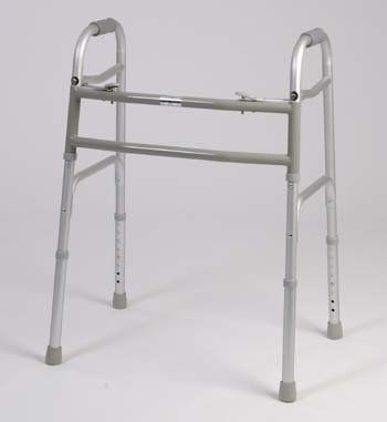 Bariatric walker - This medical geriatric walker has a dual button to fold. Weight capacity 450 pounds. This functional lightweight aluminum walker has Limited lifetime warranty on frame. by King Of Canes. $129.99. Bariatric walker - This medical geriatric walker has a dual button to fold. Weight capacity 450 pounds. This functional lightweight aluminum walker has Limited lifetime warranty on frame.  Folding Walker with dual Buttons.  Limited lifetime warranty on fr...