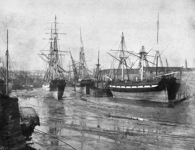 Shipping at low tide, Swansea