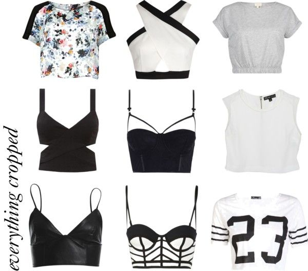 Twisted Glamour: Trend report : CROPPED TOPS