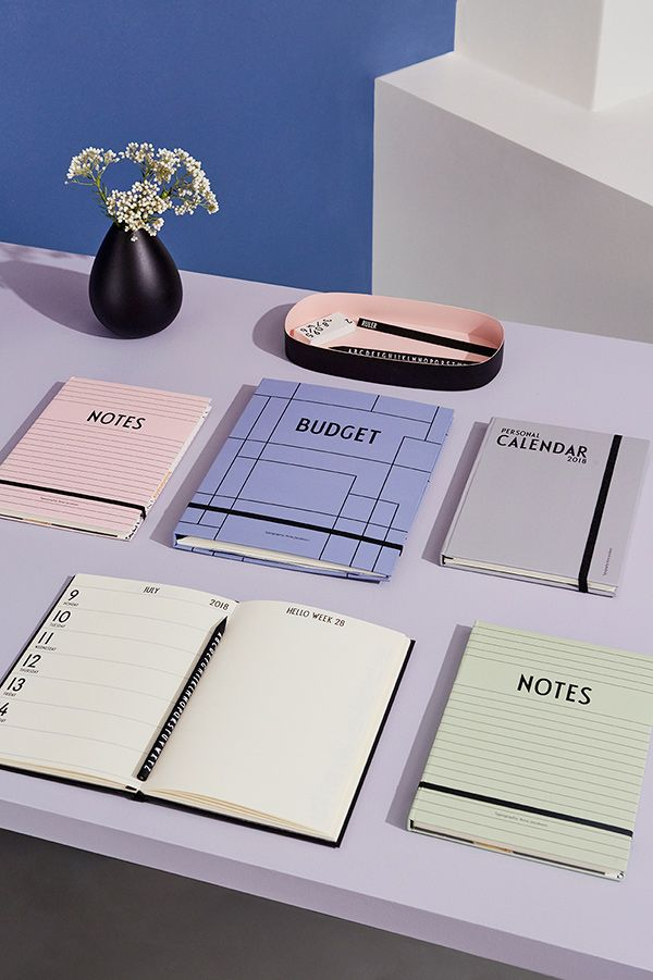 We love dusty colours !  Organize your busy life with DESIGN LETTERS calendar, notebooks and budget book.