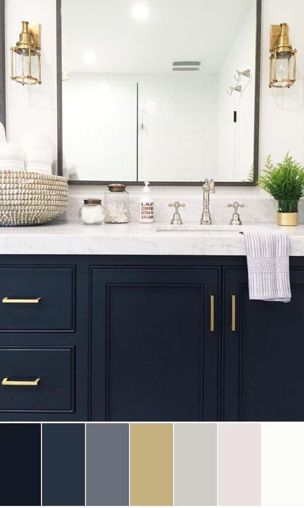 Bathroom Paint Colors Ideas For Bathroom Decor Bathroom Color Schemes Best Bathroom Colors Modern Bathroom Cabinets