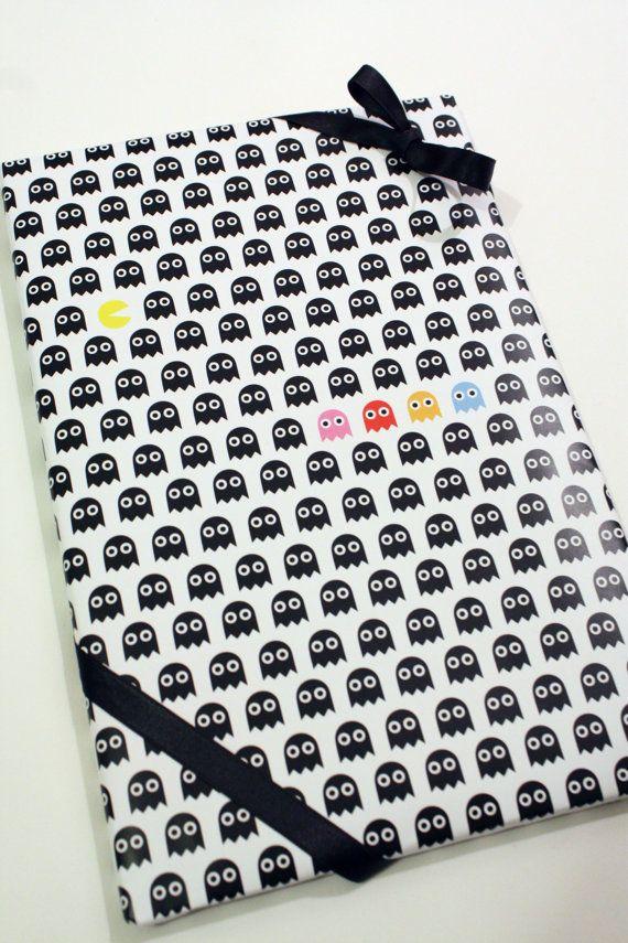 Papier Cadeau à imprimer Pacman par MySweetPaperCard sur Etsy