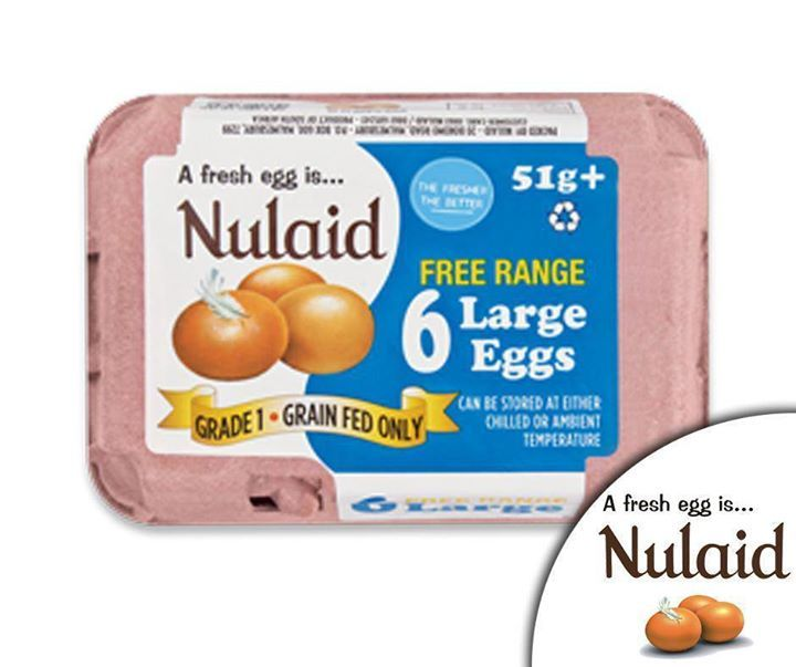 #Free Range #eggs are produced by hens which are not caged and have daily access to an outdoor range area accessible through openings in the side of the barn. #Nulaid #FarmFresh