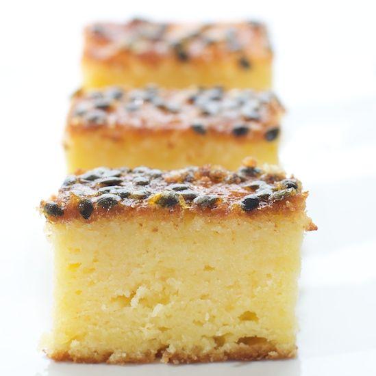 Dishing up Nirvana: Passionfruit and lemon syrup cake