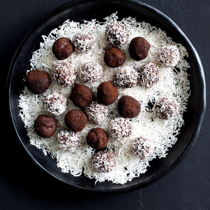Hazelnut Chocolate Truffles By Nadia Lim