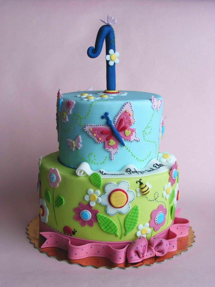 Bubolinkata торти за първи рожден ден Kids Birthday