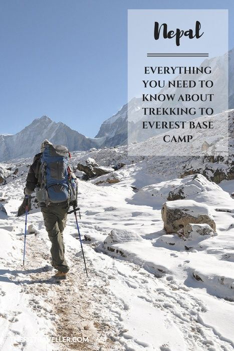 Nepal: Everything You Need to Know About Trekking to Everest Base Camp. Trekking to Everest Base Camp is a true bucket list experience. This guide gives you everything you need to do know to take the journey yourself.